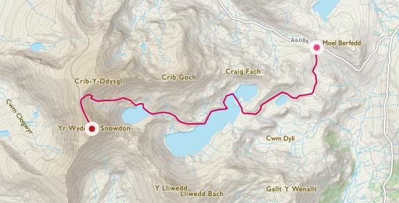 snowdon route