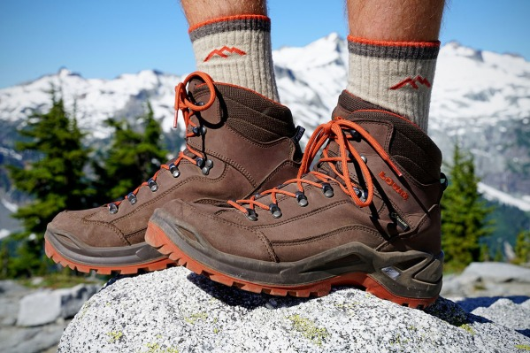 Lowa Renegade hiking boots