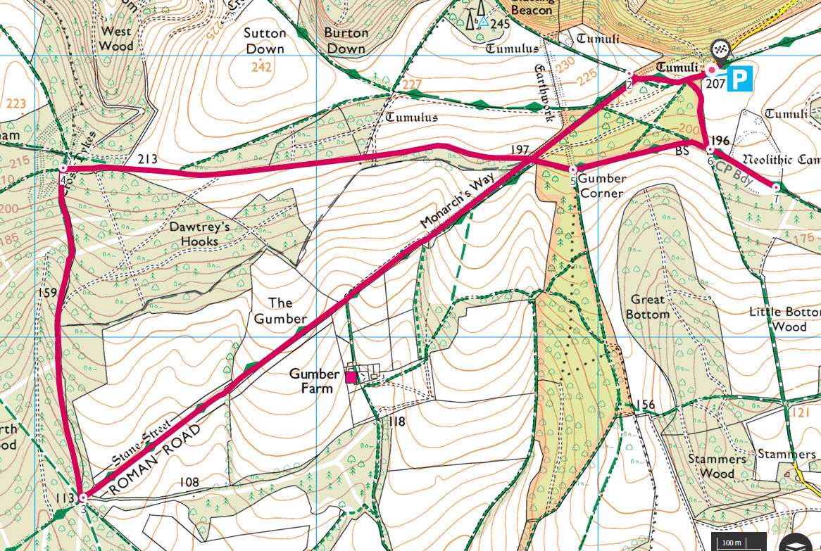 Stane Street Route