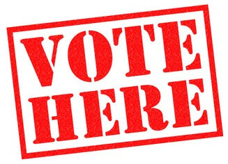 vote-here-red-rubber-stamp-260nw-426872935