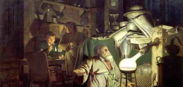 Joseph-Wright-of-Derby-The-Alchemist-in-Search-of-the-Philosophers-Stone-small