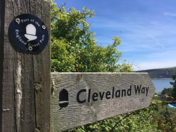 Cleveland-Way-English-Coast-Path-National-Trail-signpost