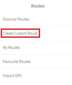 create custome route